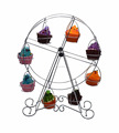 Ferris wheel cupcake holder christmas decoration 8 cups Silver Wedding Party Supplies new products
