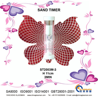 Sand clock in shape of butterfly-ST2003M-3