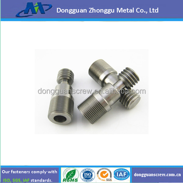 SUS316 CNC parts/High-performance aluminum customized automatic lathe part/7075 parts/