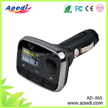 led/lcd screen display wireless car mp3 player with usb drive