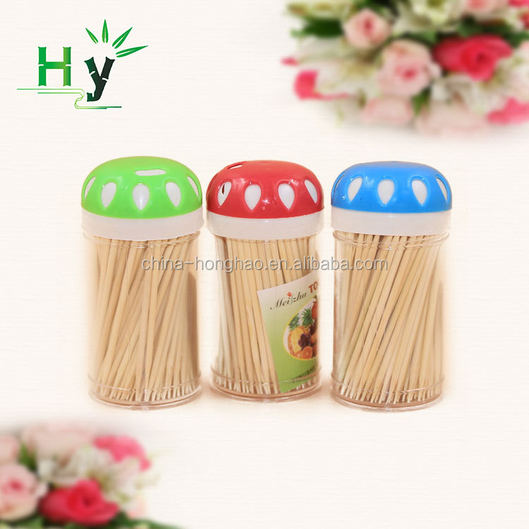 Party use disposable decorative bamboo toothpicks