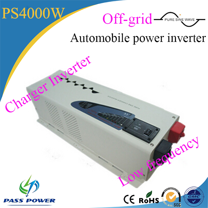 DC/AC inverters type 4000w automobile power inverter low frequency inverter charger pure sine wave
