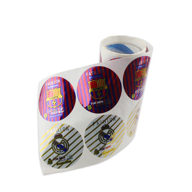Custom fragile paper sticker
