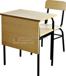 Contacted Chair and Table for Student,Chair with Table Attached,Student Desk Chair Combo