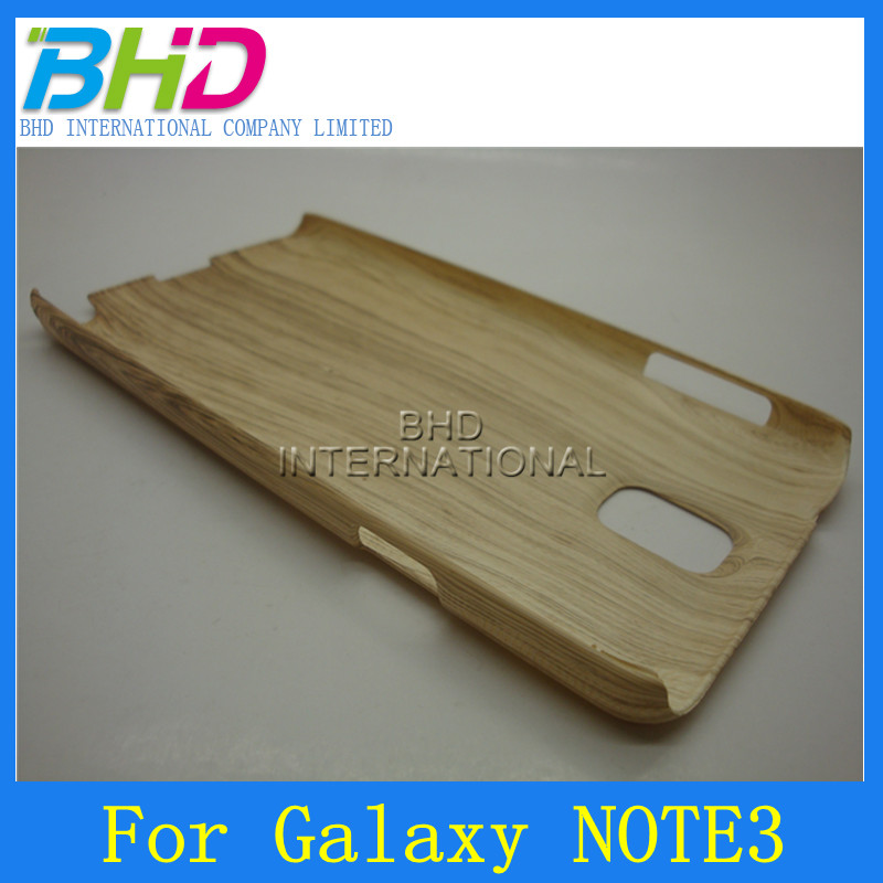 for Samsung Note 3 Wooden Grain Cell Phone Skin Cover
