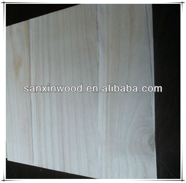 FSC paulownia finger jointed board solid kiri wood for sale