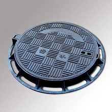 Ductile iron double seal manhole cover