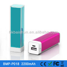 2013 newest Power Bank 2200mAh, Protable Usb charger supply long battery mobile phone