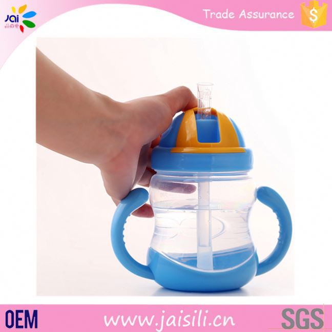 new products OEM packing wide neck feeding cup for baby kids
