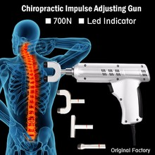 Professional chiropractic impulse adjusting instrument