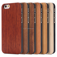 2016 new products luxury anti-crash flip case real wood phone case for iphone 5s/6s/6s p