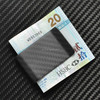 Cool Money Clips, 100% Real Carbon Fiber Spread Tow Material