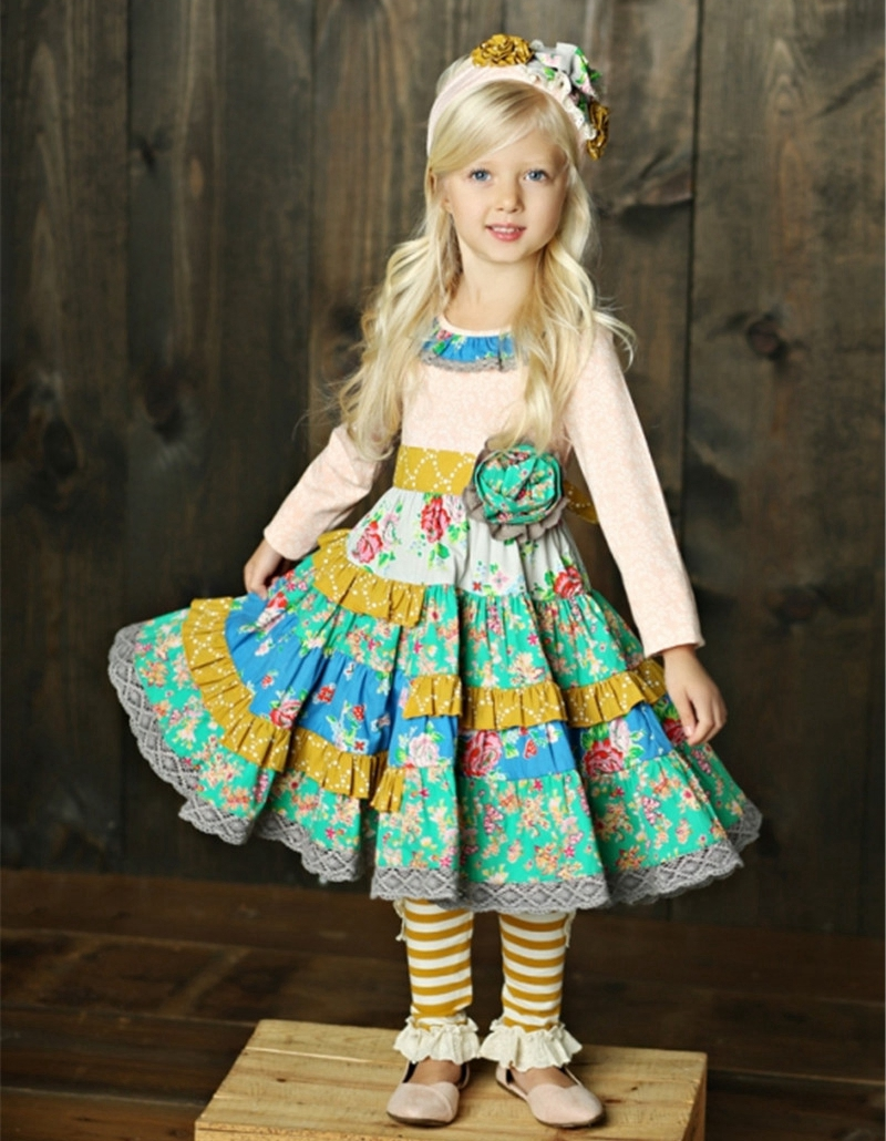 remake cute girl outfits mustard pie wholesale children boutique outfits