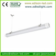 Gas station tri-proof light 2 foot-8 foot 30W-120W clear cover China led waterproof garden light lighting fixture