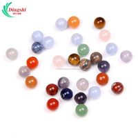 10mm Natural Tumbled Crystal Loose Beads