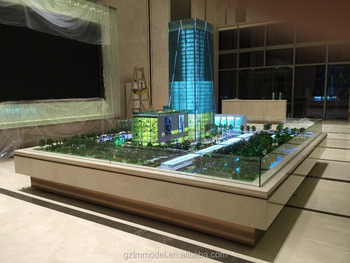Beautiful Architectural Scale Model /Lighting Miniature Architecture Models