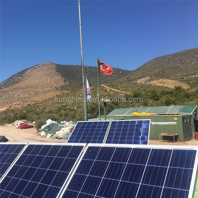 solar factory 5000W solar power system home and full power 10KW-100KW Solar Pv Module off grid home solar system