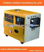 OEM semi-automatic Diesel Generators second hand genset