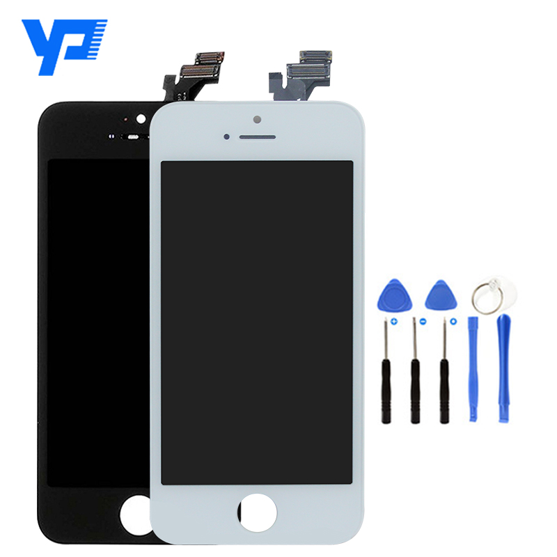 FREE SHIPPING!Original for apple iphone 5 5g lcd,for iphone 5 touch screen,for iphone 5 lcd complete