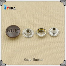 decorate clothes ring snap button fasteners for leather
