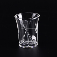 Injection Mixing up Shot Glass, Drinking Glass