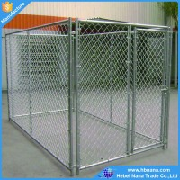 2016 hot sale product cheap chain link fence dog kennels