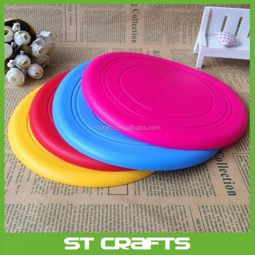 Wholesale Fodable Custom Silicone Rubber Frisbee for Dog Training Flying Disc