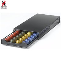 Nespresso Capsules Coffee Pod Storage Drawer holder for Nespresso