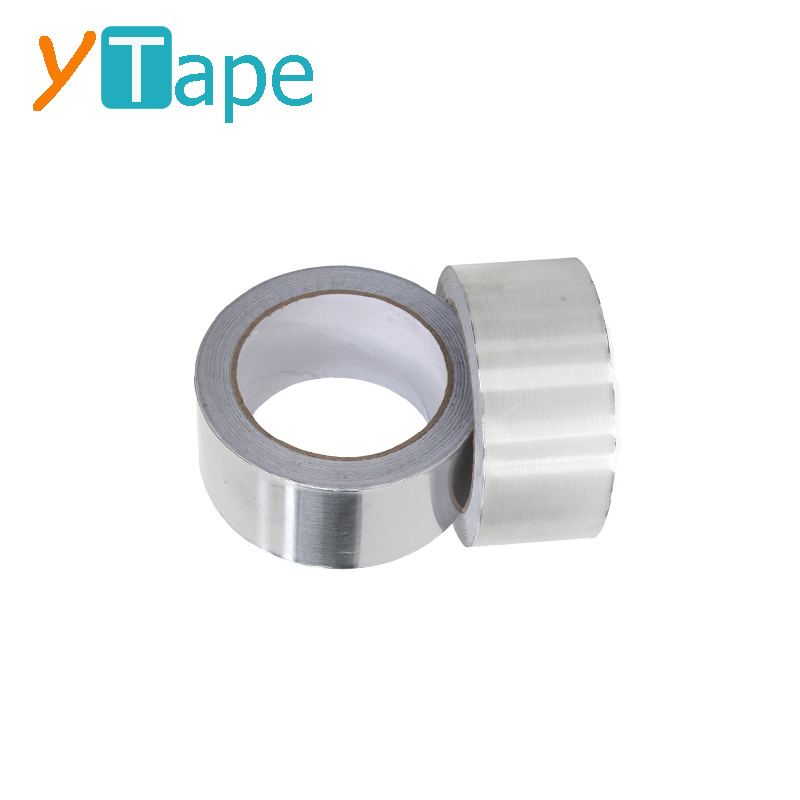 Y-AT1021 1.9 inch Strong and Reliable Flame Resistant Aluminum Foil Tape 48mm x 20m <strong>Roll</strong>