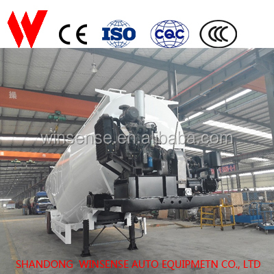 Shandong Winsense Widely Used 60 tons Bulk Cement Tank Trailer for sale