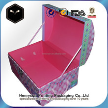 Direct Supplier OEM Mini Suitcase for Toy/Gift Red/Pink Storage with Lids Gift Box
