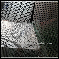 building material decoratice 1mm hole galvanized perforated metal mesh