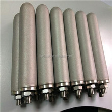 13 inch 1 um sintered Ti spargers used for metallurgy