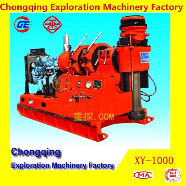 2015 Hot Cheapest Powerful Surface Geotech Diamond Core Drilling MachineXY-1000