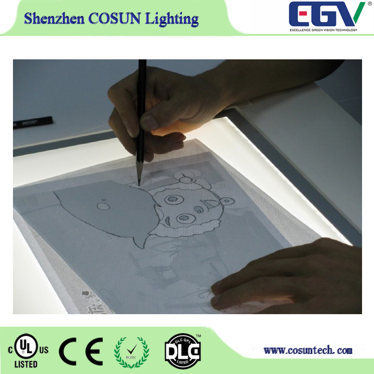 Pencil Sketch Copy Pad A3 LED Light Box Tracing Board Art Design Stencil Drawing Pattern Glowing Panel