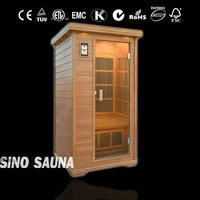 Wall mount infrared heater used in far infrared home sauna individual