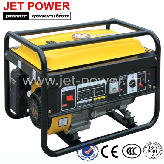 2.5kva 2.5kw 2500 watt generator powered by petrol engine