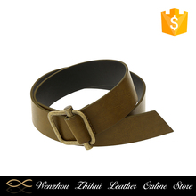 Factory directly custom design personalization men leather belt