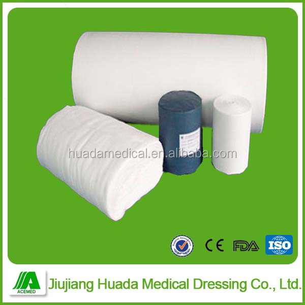 20x11 19x15 24x20 mesh absorbent bleached 100% cotton hydrophilic medical absorbent gauze roll