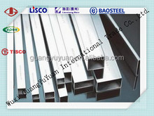 321Seamless stainless steel square tubing