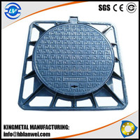 Water Meter Ductile Iron Manhole cover with frame