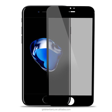 Wholesale 3D Full Cover Privacy Tempered Glass Screen Protector For iPhone 7
