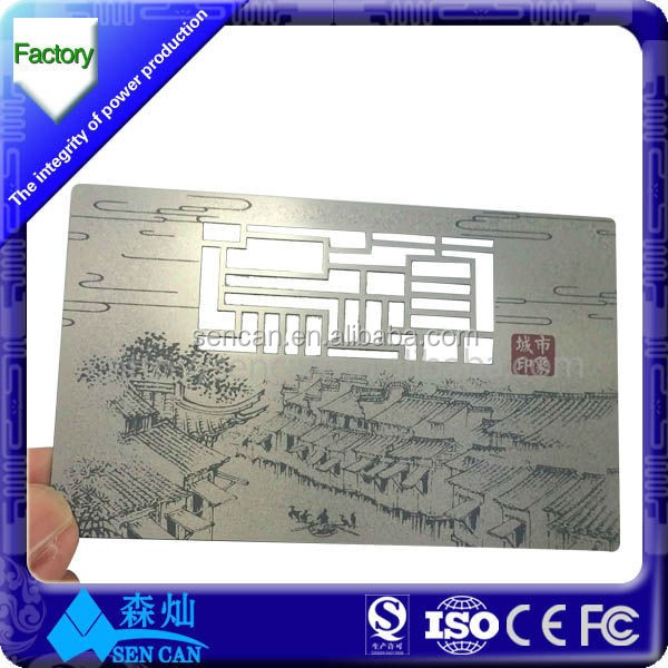 Special offer CR80 PVC metal business card for membership management