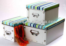 Good Quality custom plastic box with lock and key plastic storage box with lock