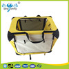 Indoor Cheap good Material Pet soft Crate,yellow dog carrier