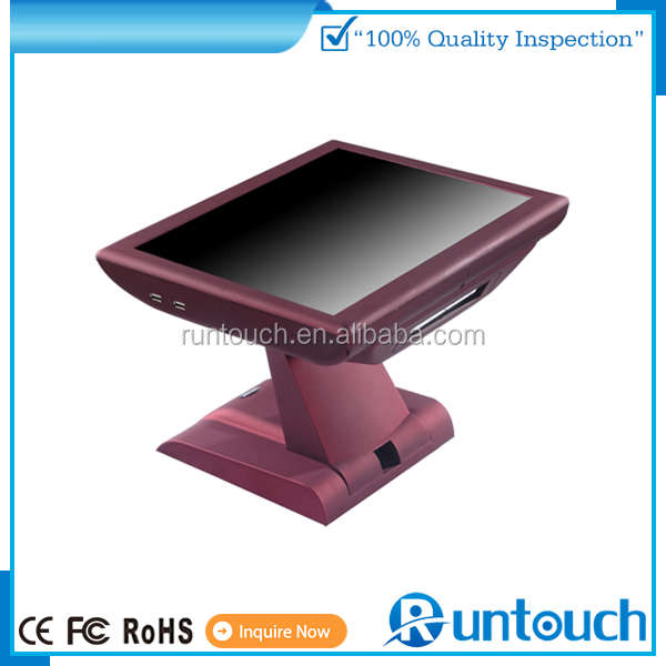 Runtouch RT-6800A 2015 Red White Black 15 inch touch screen pc pos 2015 new model