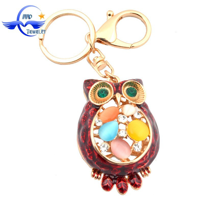 2015 trendy wedding gifts fashion bling keychains bag Trendy womens gifts 2015
