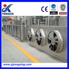 High speed cooling fan with EC for Gas Compressor Stations