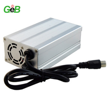 54.6V 2A Aluminum case charger for li-ion Ebike battery and electric scooter 48V 2A DC power supply