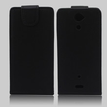 Hot sale flip leather cover case for sony xperia v lt25i